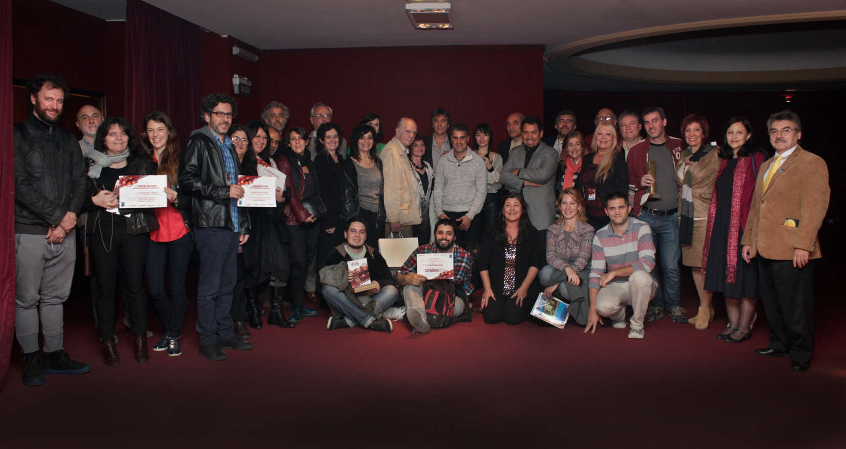Argentina FICiP 2015 Premiacion Foto general